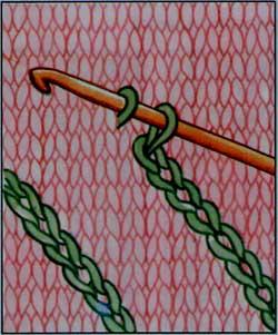 Тамбурной вышивке крючком